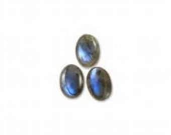 10 pic natural labradorite oval cabochon natural gemstone calibrated stone
