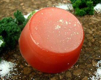 Summer Rhubarb - shaving soap - Bitter Tundra for Soapopotamus