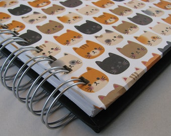 Mail Organizer - Paper Organizer - Bill Organizer - Paper Tracker - Organize Paper - Paper Holder - Pockets - To Do List - Kitty Cat