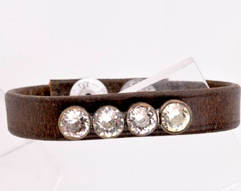 Leather Cuffs | Leather Cuff Bracelet | Leather Cuff Bracelets | Leather Cuff Bracelets For Women | Leather Wrist Cuff | Vintage Pin 32.99