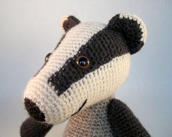 Blackberry the Badger Amigurumi Pattern PDF - Crochet Pattern