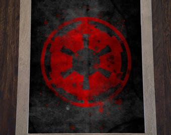 Epic Space Opera print - First Galactic Empire