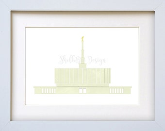 Provo LDS Temple - Digital Download
