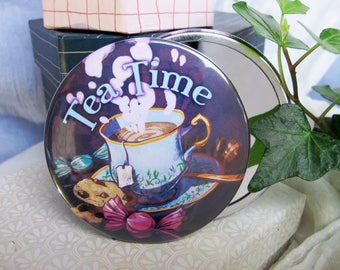 Mirror 75mm - Tea Time