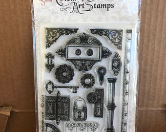 Hardware clear stamps by Clear Art Stamps
