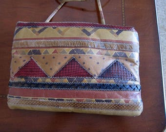 3 Mid Century Vintage Handbags  Walborg beaded - Liotta patchwork - Moni Couture clutch handbags for repair