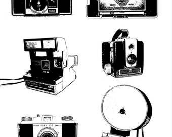 DOWNLOAD- Camera Collection Art Print