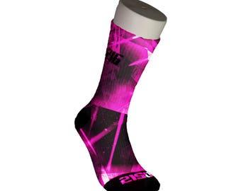 Breast Cancer Awareness socks V2