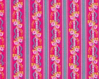 Happy Land in Martha Red designed by Jennifer Paganelli for Free Spirit Fabrics - 4.25 Yards - Great Price
