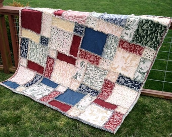 Twisted Rag Quilt Pattern