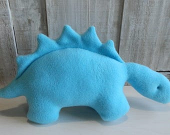 Dinosaur plush, stuffed stegosaurus, toddler boy toy, toddler girl toy, dinosaur baby toy, dinosaur gift ideas, nursery decor, Jurassic