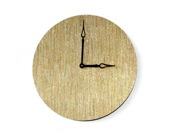 Gold Wall Clock, Home Decor, Decor and Housewares, Home and Living