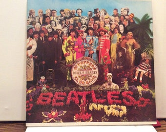 Sgt Peppers Lonely Hearts Club Band Record