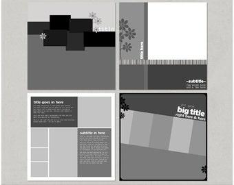AD It Up - 12x12 Digital Scrapbooking Templates