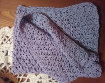 Birth cover Soft wool shrink _ passion Lavender;-)