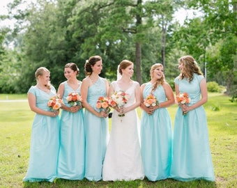 Braut Brautjungfern Schmuck benutzerdefinierte Kaution - Hochzeits-Schmuck für Hochzeit - Halskette Ohrringe Armband - Schmuck-Set