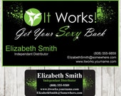 Items similar to it works business card catalog sticker on etsy it works business card catalog sticker colourmoves Choice Image