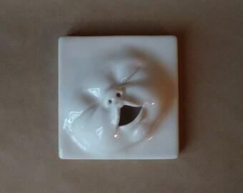 Baby Face Wall Tile, ready to ship