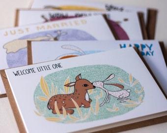 Celebration Set SMALL | 5 cards | H