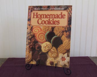 Better Homes and Gardens Homemade Cookies, Vintage Cookbook, 1989
