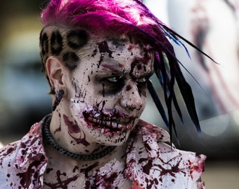 A zombie grin to die for | digital download