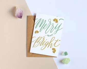 Merry and Bright - Holiday Greeting Card