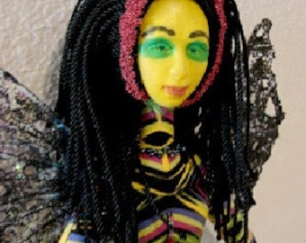 Spirit Doll-Ooak-Onyx Jewel (Made to Order by Request)
