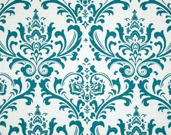 Traditions Slub Aquarius Premier Prints Fabric - One Yard - Home Decor Fabric