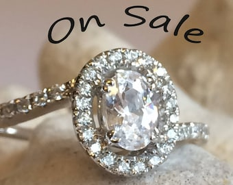 Zircon Ring on Sale engagement ring Graduation 925 Silver 14K 18K white yellow Gold,Swarovski Crystal, Gift idea SKU 1911