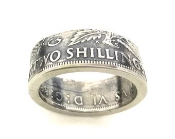 Coin Ring - Irish Scottish welsh