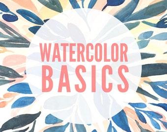 Watercolor Basics Workshop | 1 to 4 PM | July 21 | Omaha