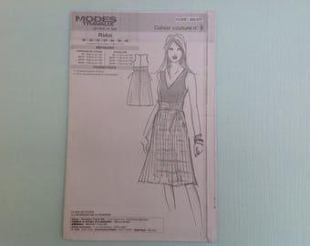 Boss Modes & work 06/2012 woman pattern 36-48 dress sewing pattern