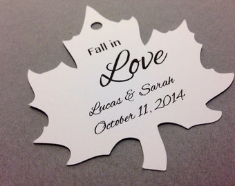 Fall Wedding Favor tags, wedding favour tags.  Autumn Wedding Favour Tags autumn favour tags Personalized and customized