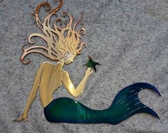 Mermaid Art Medium