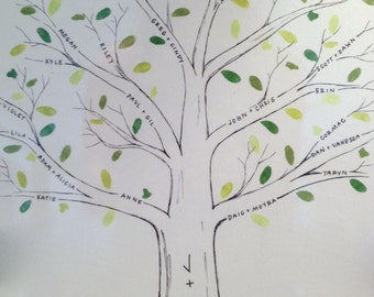 Handmade Family Tree