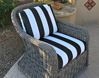 Custom Cushion Cover Replacement Slipcover Indoor or Outdoor