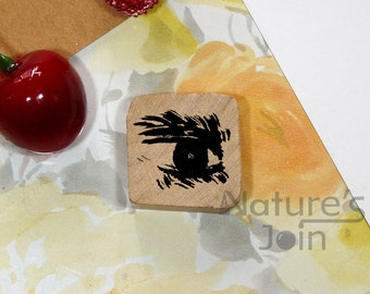Eye Wood Mounted Rubber Stamp from NaturesJoin SP041