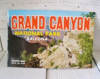 Vintage souvenir book Grand Canyon National Park Arizona 1957/ free shipping US