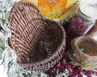 Hand Dyed Wall Basket