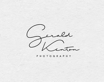 Premade Logo, Photography Logo, Signature Logo, Elegant Logo, Modern Logo, Boutique Logo, Beauty Logo, Life Coaches Logo, Caligraphy, S11