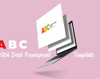 ABC Pitch Deck Powerpoint Template