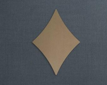 Basic Shapes, Diamond, Wood Cutout, Unfinished Sign