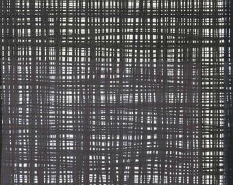 Alexander Henry - The Ghastlies Collection - A Ghastlie Weave in Black / White