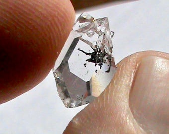 Herkimer Diamond Crystal - Natural Jewelry Grade Genuine NY Herkimer Diamond Double Terminated Quartz Crystal - Healing Metaphysical Crystal