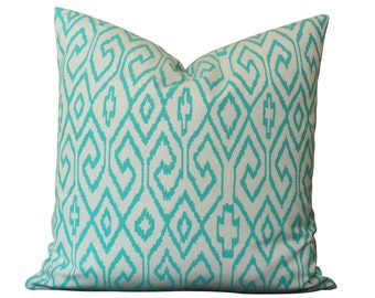 China Seas Aqua IV Outdoor Pillow Cover in Turquoise