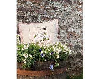 Rose Basket Cushion Sewing Pattern Download 803267