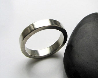 Man Band sterling silver ring - made to order