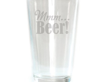 Pub Glass - 16oz - 6203 mmm…Beer!