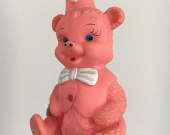 Squeaky toy Bear