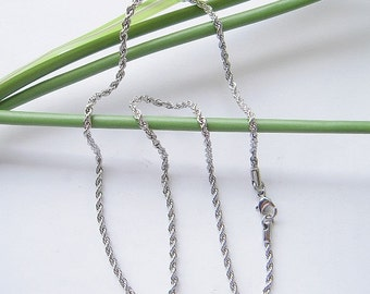 10strands Stainless Steel Necklace Chain, Nickel free lead free,free shipping